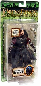 Lord of the Rings Trilogy Fellowship of the Ring Action Figure Series 4 Super Poseable Boromir