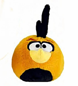 Angry Birds 5 Inch MINI Plush Orange Globe Bird [Normal]
