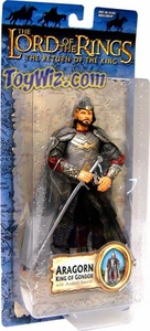 Lord of the Rings Trilogy Return of the King Series 2 Action Figure Aragorn King of Gondor [Anduril Sword]