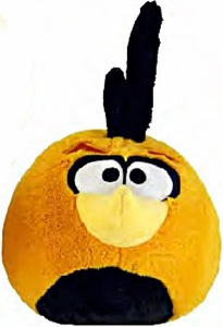 Angry Birds 8 Inch DELUXE Plush With Sound Orange Globe Bird [Normal]