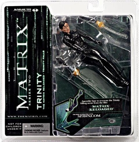 McFarlane Toys Series 2 Matrix Action Figure Trinity [Falling]