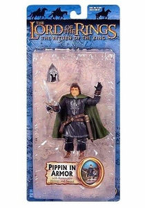 Lord of the Rings Trilogy ROTK Bilingual Action Figure Pippin in Armor