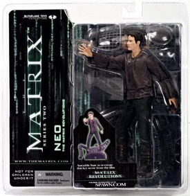 McFarlane Toys Series 2 Matrix Action Figure Neo [Real World]