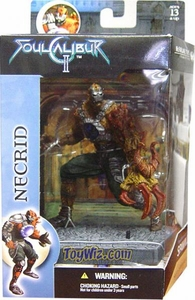 McFarlane Toys Soul Calibur 2 Boxed Action Figure Necrid