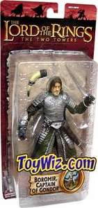 Lord of the Rings Trilogy Two Towers Action Figure Series 3 Boromir Captain of Gondor [Gondorian Armor]