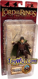 Lord of the Rings Trilogy Two Towers Action Figure Series 3 Frodo [Super Poseable]