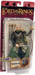 Lord of the Rings Trilogy Two Towers Action Figure Series 4 Legolas [Arrow Launching]