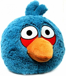 Angry Birds 8 Inch DELUXE Plush With Sound Blue Bird BLOWOUT SALE!