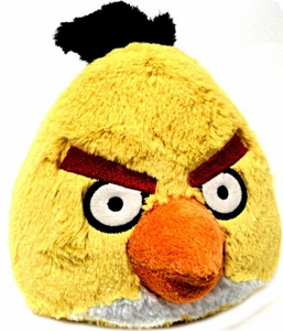 Angry Birds 8 Inch DELUXE Plush With Sound Yellow Bird BLOWOUT SALE!