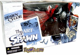 McFarlane Toys Spawn Series 26 The Art of Spawn Boxed Set Spawn vs. Cygor i.57