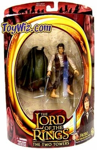 Lord of the Rings Two Towers Action Figure Frodo [Light-Up Sting Sword]