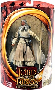 Lord of the Rings Two Towers Action Figure Gandalf the White