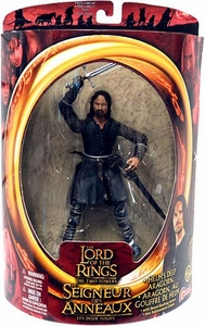 Lord of the Rings Two Towers Action Figure Helm's Deep Aragorn