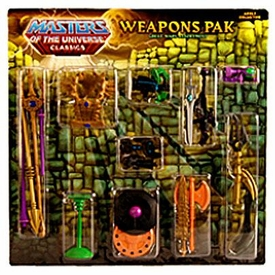 He-Man Masters of the Universe Classics Exclusive Weapons Pak Great Wars Assortment