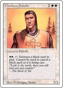 Magic the Gathering Revised Edition Single Card Rare Northern Paladin