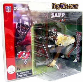 McFarlane Toys NFL Sports Picks Series 1 Action Figure Warren Sapp (Tampa Bay Buccaneers) White Jersey Variant