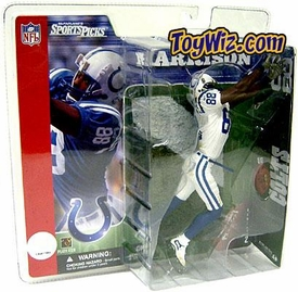 McFarlane Toys NFL Sports Picks Series 2 Action Figure Marvin Harrison (Indianapolis Colts) White Jersey Variant