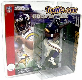 McFarlane Toys NFL Sports Picks Series 2 Action Figure Daunte Culpepper (Minnesota Vikings) Purple Jersey Variant