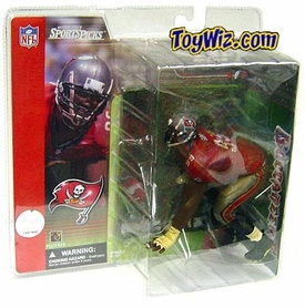 McFarlane Toys NFL Sports Picks Series 1 Action Figure Warren Sapp (Tampa Bay Buccaneers) Red Jersey