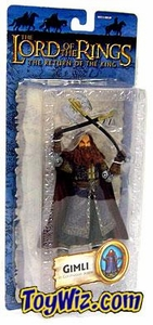 Lord of the Rings Trilogy Return of the King Action Figure Series 3 Gimli [Coronation Attire]