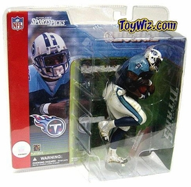 McFarlane Toys NFL Sports Picks Series 1 Action Figure Eddie George (Tennessee Titans) Blue Jersey