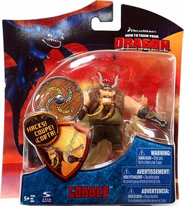 How to Train Your Dragon Movie 4 Inch Series 3 Action Figure Gobber [Shield]
