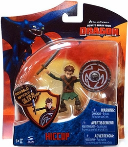 How To Train Your Dragon Movie 4 Inch Series 3 Action Figure Hiccup [Shield & Sword]