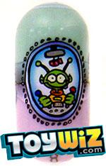 Mighty Beanz Series 3 Rare Space Cadet Single #156 U.F.O. Bean