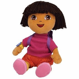 Ty Dora the Explorer Beanie Buddy Dora
