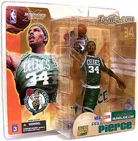 McFarlane Toys NBA Sports Picks Series 3 Action Figure Paul Pierce (Boston Celtics) Green Jersey