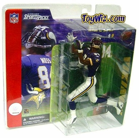 McFarlane Toys NFL Sports Picks Series 1 Action Figure Randy Moss (Minnesota Vikings) Purple Jersey