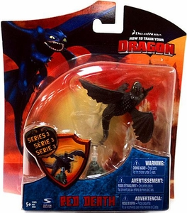How to Train Your Dragon Movie 4 Inch Series 3 Action Figure Red Death