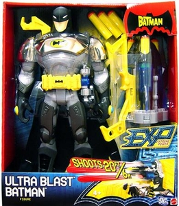 The Batman EXP Extreme Power 14 Inch Super Deluxe Action Figure Ultra Blast Batman