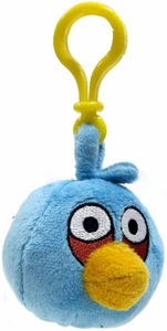 Angry Birds 3 Inch Mini Plush Clip On Blue Bird