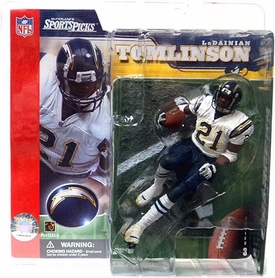 McFarlane Toys NFL Sports Picks Series 3 Action Figure LaDainian Tomlinson (San Diego Chargers)