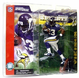 McFarlane Toys NFL Sports Picks Series 3 Action Figure Michael Bennett (Minnesota Vikings)