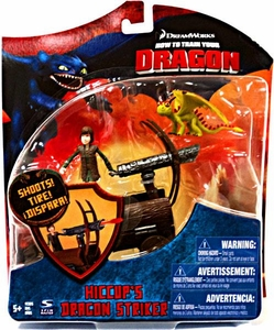 How To Train Your Dragon Movie Series 3 Deluxe 7 Inch Action Figure Hiccup's Dragon Striker [Includes Hiccup & Terrible Terror]