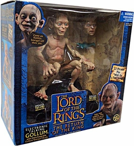 Lord of the Rings Trilogy The Return of the King Deluxe Electronic Talking Figure Gollum [Smeagol]