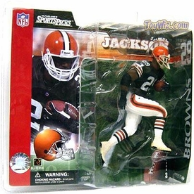 McFarlane Toys NFL Sports Picks Series 3 Action Figure James Jackson (Cleveland Browns)