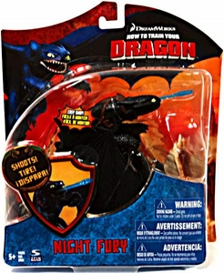 How To Train Your Dragon Movie Series 3 Deluxe 7 Inch Action Figure Night Fury {Toothless} [Shoots]