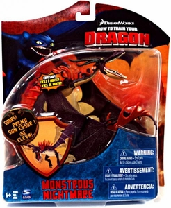 How to Train Your Dragon Movie Series 3 Deluxe 7 Inch Action Figure PURPLE Monstrous Nightmare