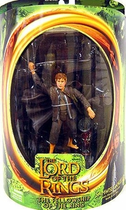 Lord of the Rings Fellowship of the Ring Samwise Gamgee [Moria Mines Goblin Battle Action Base]