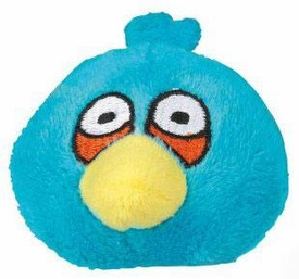 Angry Birds Flingers 2 Inch Soft Pencil Topper Blue Bird