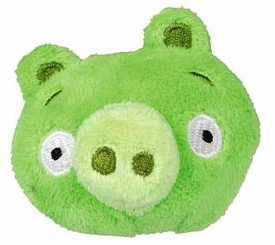 Angry Birds Flingers 2 Inch Soft Pencil Topper Green Pig