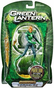 Green Lantern Movie Masters Series 1 Action Figure Tomar Re [Build Parallax Piece] BLOWOUT SALE!