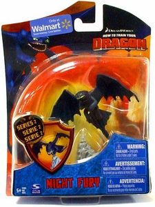 How To Train Your Dragon Movie 4 Inch Series 2 Action Figure Night Fury {Toothless}