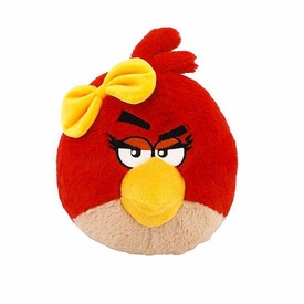 Angry Birds Girls 5 Inch MINI Plush With Sound Red Girl Bird