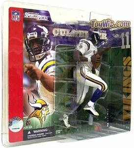 McFarlane Toys NFL Sports Picks Series 2 Action Figure Daunte Culpepper (Minnesota Vikings) White Jersey