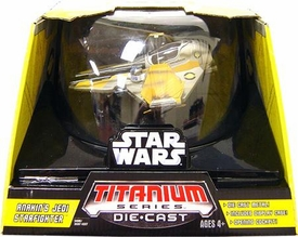 Star Wars Titanium Series Diecast Ultra Anakin's Jedi Starfighter [Yellow]