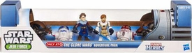 Star Wars 2011 Exclusive Playskool Heroes Jedi Force The Clone Wars Adventure Pack